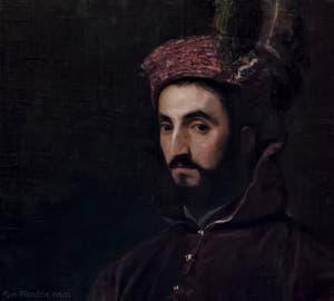 Le Titien, Tiziano Vecellio, Hippolyte de Médicis, 1532, Galerie Palatina Pitti, Florence Italie