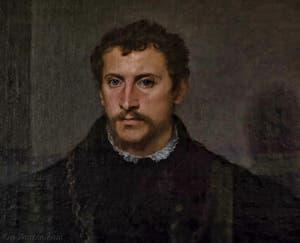 Le Titien, Tiziano Vecellio, Portrait d'un jeune homme, le jeune anglais, 1540-1545, Galerie Palatina Pitti, Florence Italie