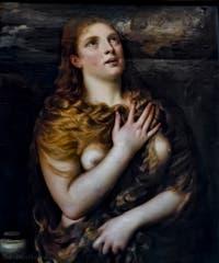 Le Titien, Tiziano Vecellio, sainte Marie-Madeleine pénitente, 1533, Galerie Palatina Pitti, Florence Italie