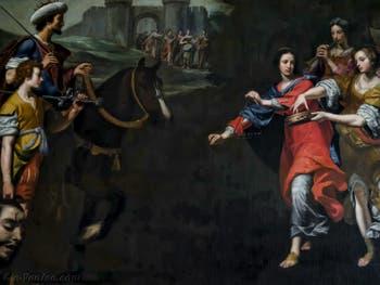 Lorenzo Lippi, Le Triomphe de David, 1640-1645, galerie Palatina Pitti, Florence Italie