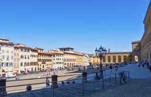 Le Palazzo Pitti et la Galerie Palatina à Florence en Italie