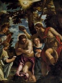 Paul Véronèse, Paolo Caliari, le Baptème du Christ, 1583-1584, Galerie Palatina Pitti, Florence Italie