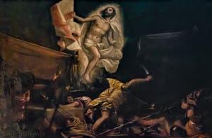 Paul Véronèse, Paolo Caliari, Résurrection du Christ, XVIe siècle, Galerie Palatina Pitti, Florence Italie