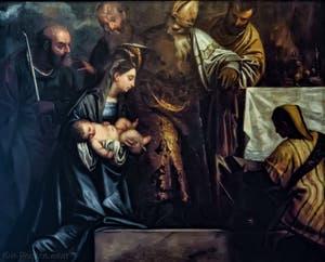 Paul Véronèse, Paolo Caliari, Présentation de Jésus au Temple, XVIe siècle, Galerie Palatina Pitti, Florence Italie