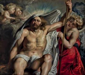 Pierre Paul Rubens, Christ Ressuscité, 1615-1616, Galerie Palatina Pitti, Florence Italie