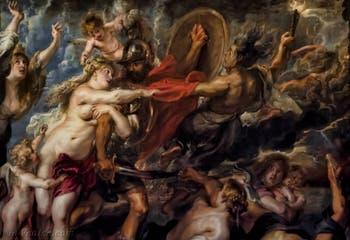Pierre Paul Rubens, Venus traite avec Mars, les conséquences de la guerre, 1638, galerie Palatina Pitti, Florence Italie