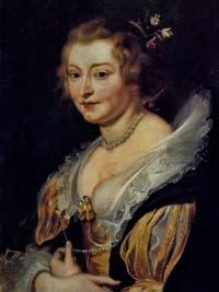 Pierre Paul Rubens, Portrait de femme, galerie Palatina Pitti, Florence Italie