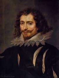 Pierre Paul Rubens, Portrait de George Villier, Duc de Buckingham, 1625, Galerie Palatina Pitti, Florence Italie