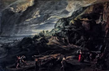 Pierre Paul Rubens, Ulysse sur l'île de Circé, 1630-1635, galerie Palatina Pitti, Florence Italie