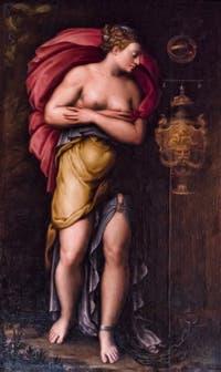 Siciolante Girolamo, Girolamo da Sermoneta, La Patience, XVIe siècle galerie Palatina Pitti, Florence Italie