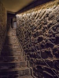 L'accès à la prison de la Tour Arnolfo du Palazzo Vecchio à Florence en Italie