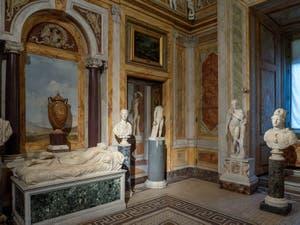 L'Hermaphrodite Endormi à la Galerie Borghèse à Rome