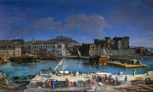 Caspar Van Wittel, Le Port de Naples, Galerie Colonna à Rome