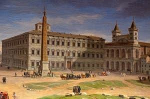 Caspar Van Wittel, Basilique Saint-Jean-de-Latran, Galerie Colonna à Rome