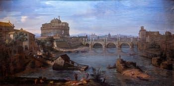 Caspar Van Wittel, Le Tibre et le château Saint-Ange, Galerie Colonna à Rome