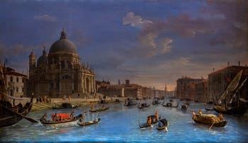 Caspar Van Wittel, Santa Maria della Salute et le Grand Canal, Galerie Colonna à Rome