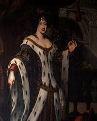 Jakob Ferdinand Voet, portrait de Marie Mancini Colonna en Armide à la Galerie Colonna à Rome