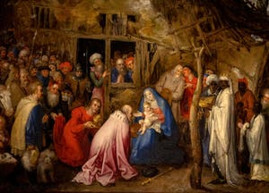 Jan Brueghel l'Ancien, Adoration des Mages à la Galerie Colonna à Rome