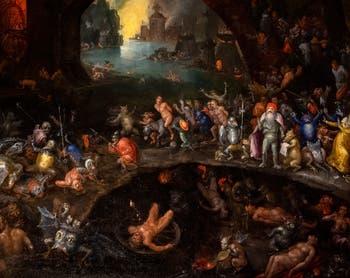 Jan Brueghel l'Ancien,Descente du Christ aux Limbes,à la Galerie Colonna à Rome