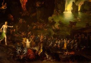 Jan Brueghel l'Ancien, Énée et la Sibylle aux Enfers, à la Galerie Colonna à Rome.