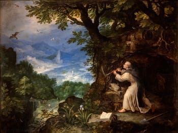 Jan Brueghel l'Ancien, saint Pierre Célestin à la Galerie Colonna à Rome