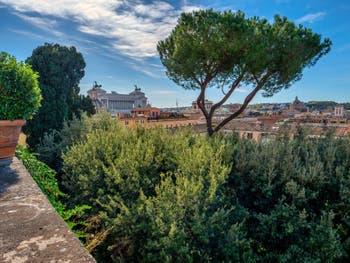 Les Jardins du Palais Colonna à Rome