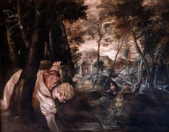 Le Tintoret, Narcisse à la Fontaine à la Galerie Colonna à Rome