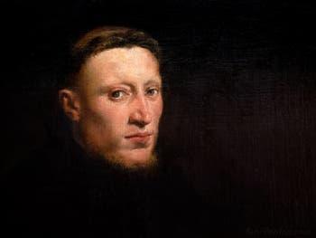 Le Tintoret, Portrait d'Onofrio Panvinio à la Galerie Colonna à Rome