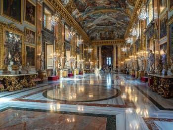La Grande Galerie du Palais Galerie Colonna à Rome