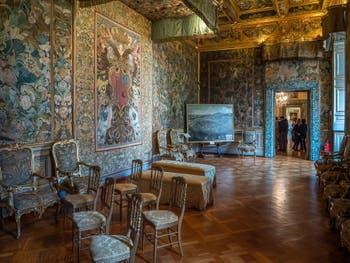 Les appartements de la Princesse Isabelle au Colonna à Rome