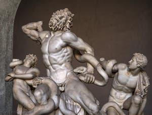 Laocoon et ses fils au Musée du Vatican à Rome