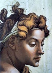 Ignudo chapelle Sixtine de la chapelle Sixtine par Michel-Ange au Vatican à Rome
