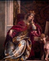Paul Véronèse,La Vision de sainte Hélène, à la pinacothèque du musée du Vatican à Rome