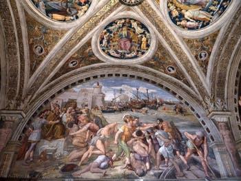 Raphaël, L'incendie du Borgo, Chambres de Raphaël au Musée du Vatican à Rome