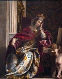 Veronese, Vision de Sainte Hélène à la pinacothèque des Musées du Vatican à Rome