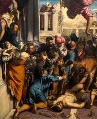Le Tintoret, le Miracle de saint Marc délivrant l'esclave à la Galerie de l'Accademia à Venise