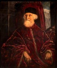 Le Tintoret, Portrait du Procureur Jacopo Soranzo, à la galerie de l'Accademia à Venise.