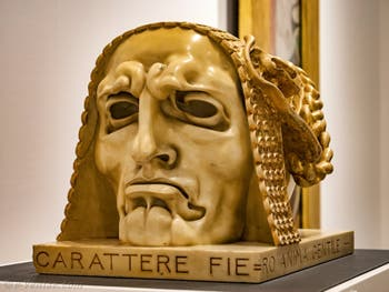 Adolfo Wildt, Caractère Fier et Âme Douce, Galerie Internationale d'Art Moderne Ca' Pesaro à Venise