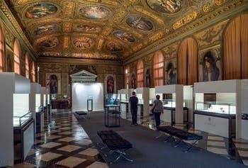 La Bibliothèqe Marciana à Venise
