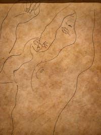 Egon Schiele, Nu, Galerie Internationale d'Art Moderne Ca' Pesaro à Venise Italie