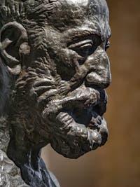 Émile-Antoine Bourdelle, Buste d'Anatole France, Galerie Internationale d'Art Moderne Ca' Pesaro à Venise