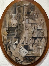Georges Braque, La Clarinette, au musée Peggy Guggenheim à Venise