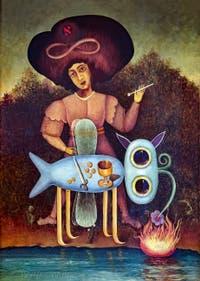 Victor Brauner, Le Surréaliste, au musée Peggy Guggenheim à Venise