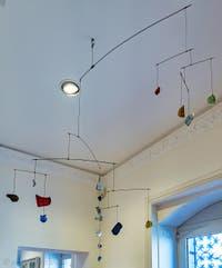 Alexander Calder,  Mobile Verre et Porcelaine au Musée Peggy Guggenheim à Venise