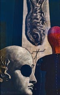 Giorgio de Chirico, La Nostalgie du Poète, au musée Peggy Guggenheim à Venise