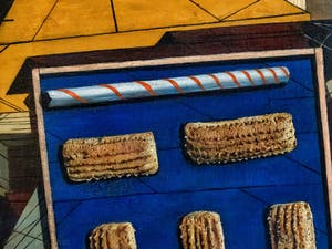 Giorgio de Chirico, Le Doux Après-midi, au musée Peggy Guggenheim à Venise