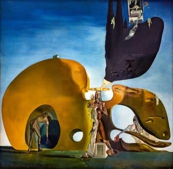 Salvador Dalí, Naissance des Désirs Liquides, au musée Peggy Guggenheim à Venise