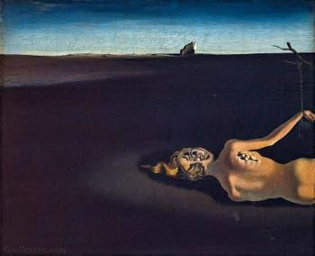 Salvador Dalí, Femme dormant dans un paysage, au Musée Peggy Guggenheim à Venise