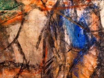 Willem de Kooning, Sans Titre 1958, au musée Peggy Guggenheim à Venise