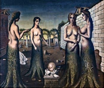 Paul Delvaux, L'Aurore, musée Peggy Guggenheim à Venise